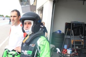 Bruno QUILY plus inquiet avant son premier relais (Photo : FC)