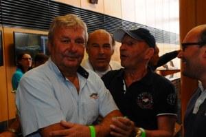 Jean Pierre JARIER ex-pilote de F1 (Lotus, Tyrell, Ligier....) était présent sur la piste