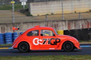 """Benoit BEAL au volant de la """"71"""" au Mans (2014)"""