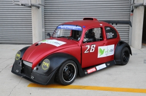 """Le première voiture """"sponsorisée"""" par Mobility Tech Green en 2013"""