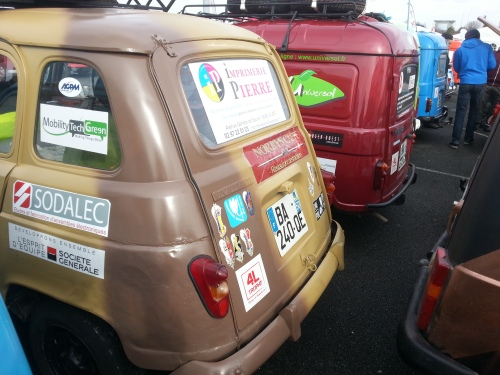 Mobility Tech Green 4L Trophy 2014 - Voiture n° 2077