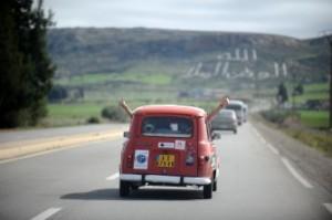 4L trophy - Les premiers kilomètres au Maroc