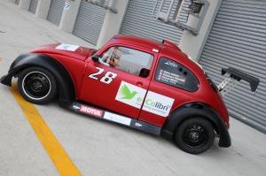 """La """"28"""" de la première participation aux 8 heures du Mans 2013"""