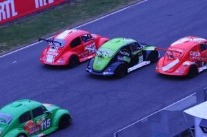 """8 heures du Mans 2015 - La """"179"""" débordée au départ dans la ligne droite"""