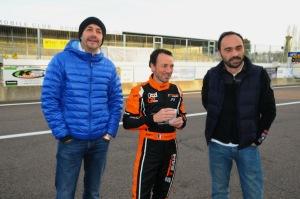 8H de Dijon 2015 - Fred, Benoit et Stéphane trois des quatre mousquetaires de la 71