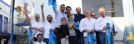 """8H de Dijon - Podium """"médiaire"""" pour la 71 de ZOSH Compétition - 2nde place (a gauche)"""