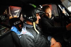 Val de Vienne 2015 - Quentin suit avec intérêt les explications du Boss avant les essais