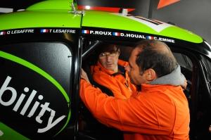 Didier HOUAL & Pascal ROUX aux 8 heures de Dijon 2015
