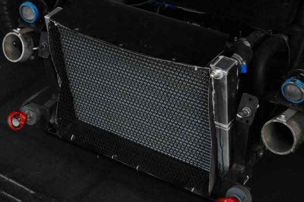 Qui dit nouveau moteur....nouveau radiateur alu