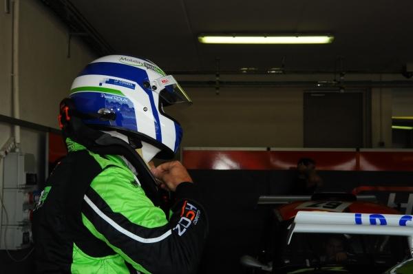 Pascal ROUX se prépare à prendre le départ avec le nouveau moteur EVO3